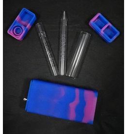 White Rhino Silicone Dab Kit Blue/Purple
