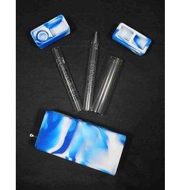 White Rhino Silicone Dab Kit Blue