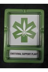 Emotional Support Plant Ceramic Ashtray