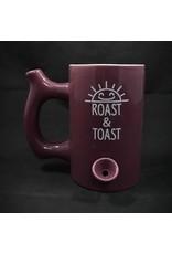 Ceramic Pipe Mug – Roast and Toast Purple