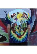 Bi-Plane Bears Tie Dye Grateful Dead Shirt -