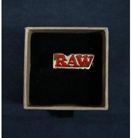 Raw Raw Smoker Ring with Black Finish – Size 11