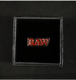 Raw Raw Smoker Ring with Black Finish – Size 10