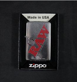 Raw Raw Zippo Brushed Chrome