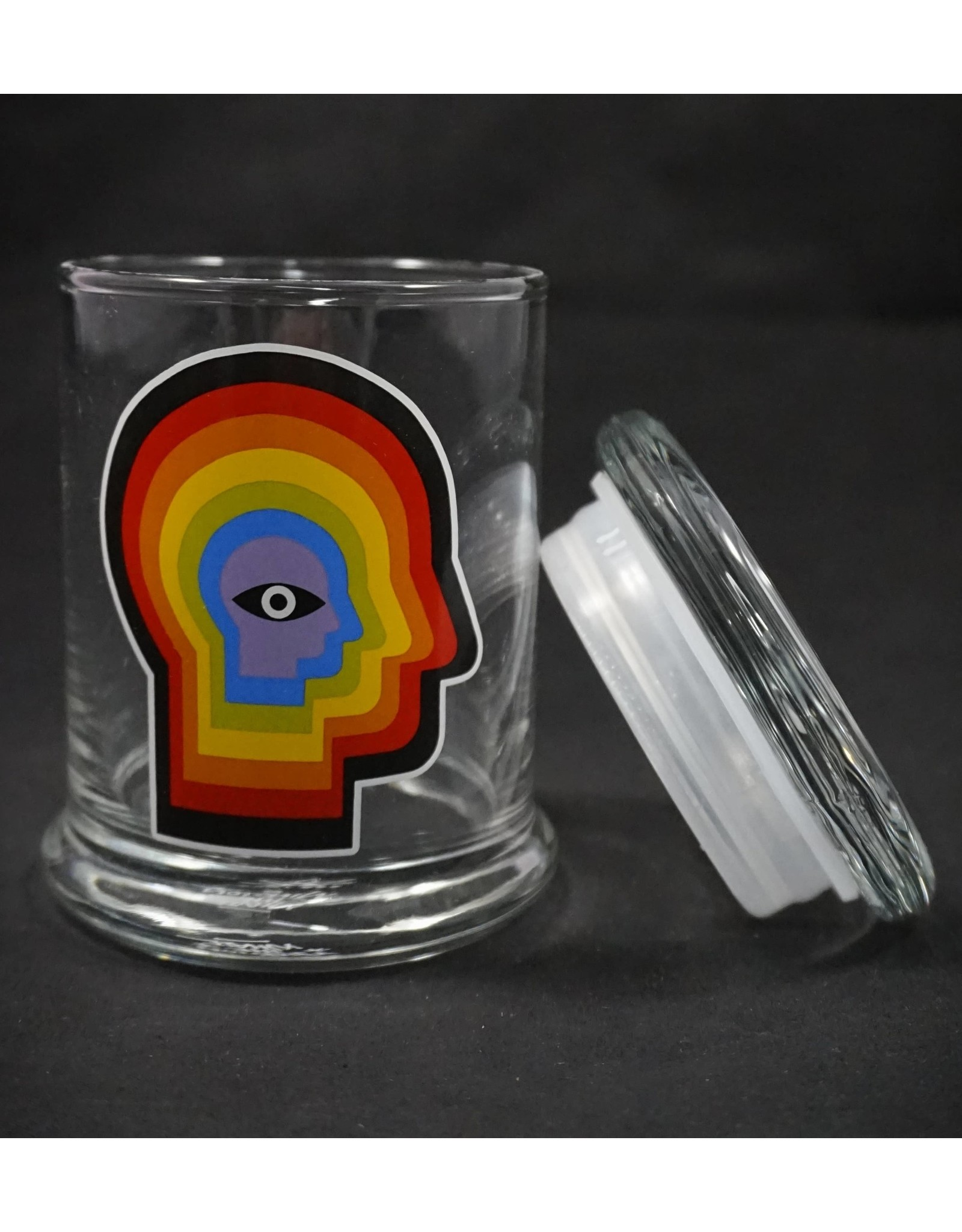 420 Science 420 Science Jars Medium Rainbow Mind Pop Top