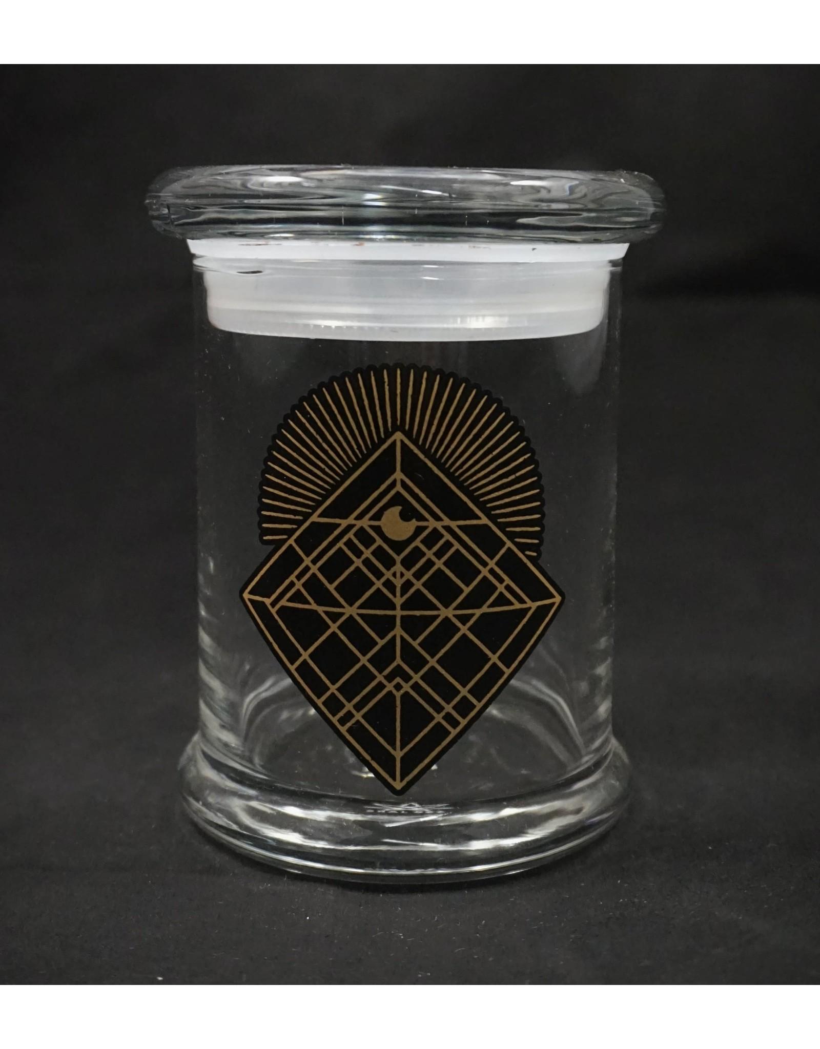 420 Science 420 Science Jars Medium Diamond Intersect Pop Top