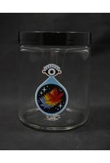420 Science 420 Science Jars Large All Seeing Leaf Screw Top