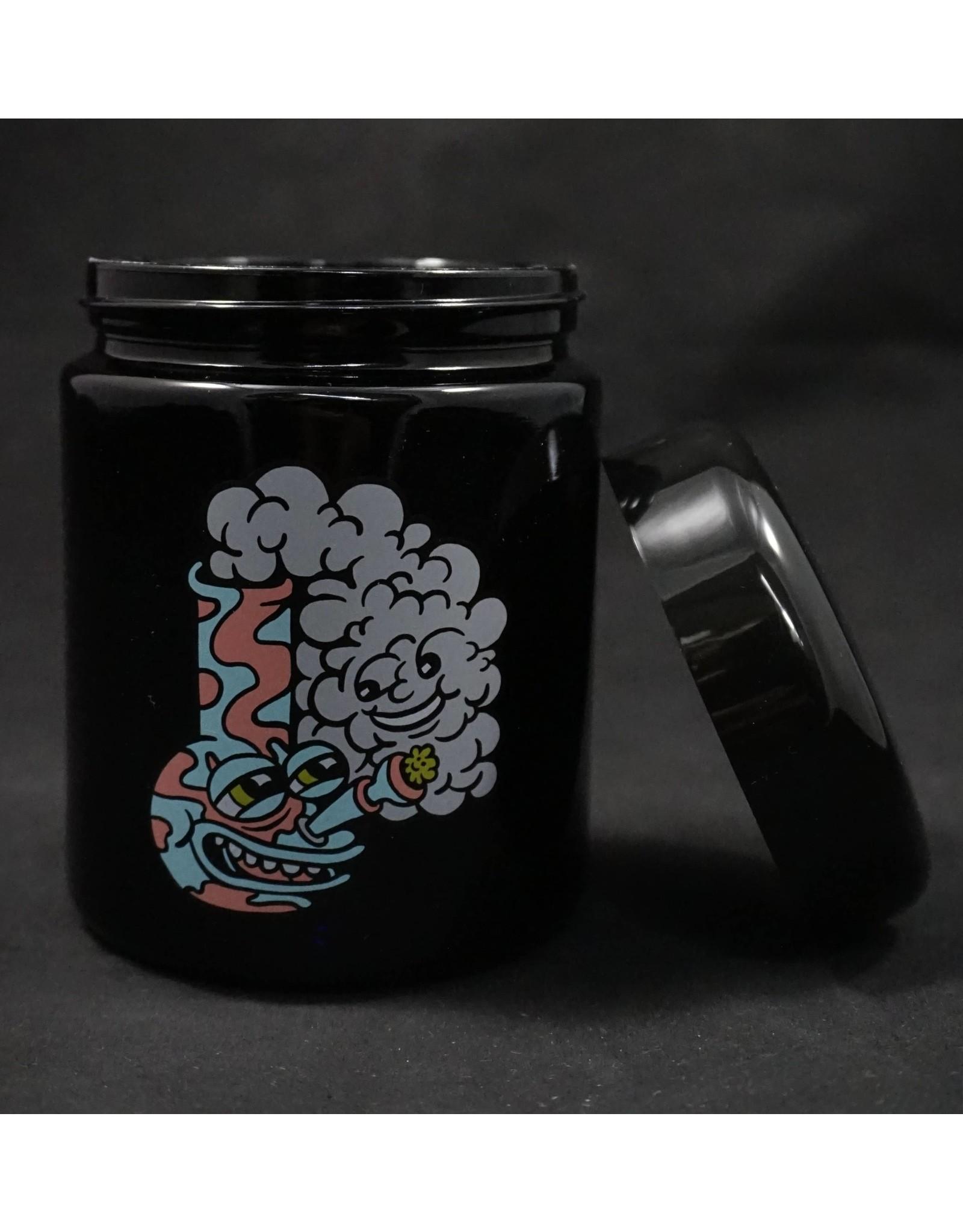 420 Science 420 Science Jars Large Happy Bong UV Screw Top