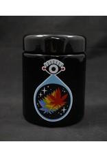 420 Science 420 Science Jars Large All Seeing Leaf UV Screw Top