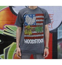 Dark Heather American Woodstock Shirt -