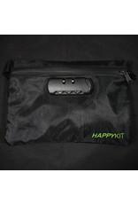 Happy Kit - Happy Pouch Lockable Smoker Travel Kit Black