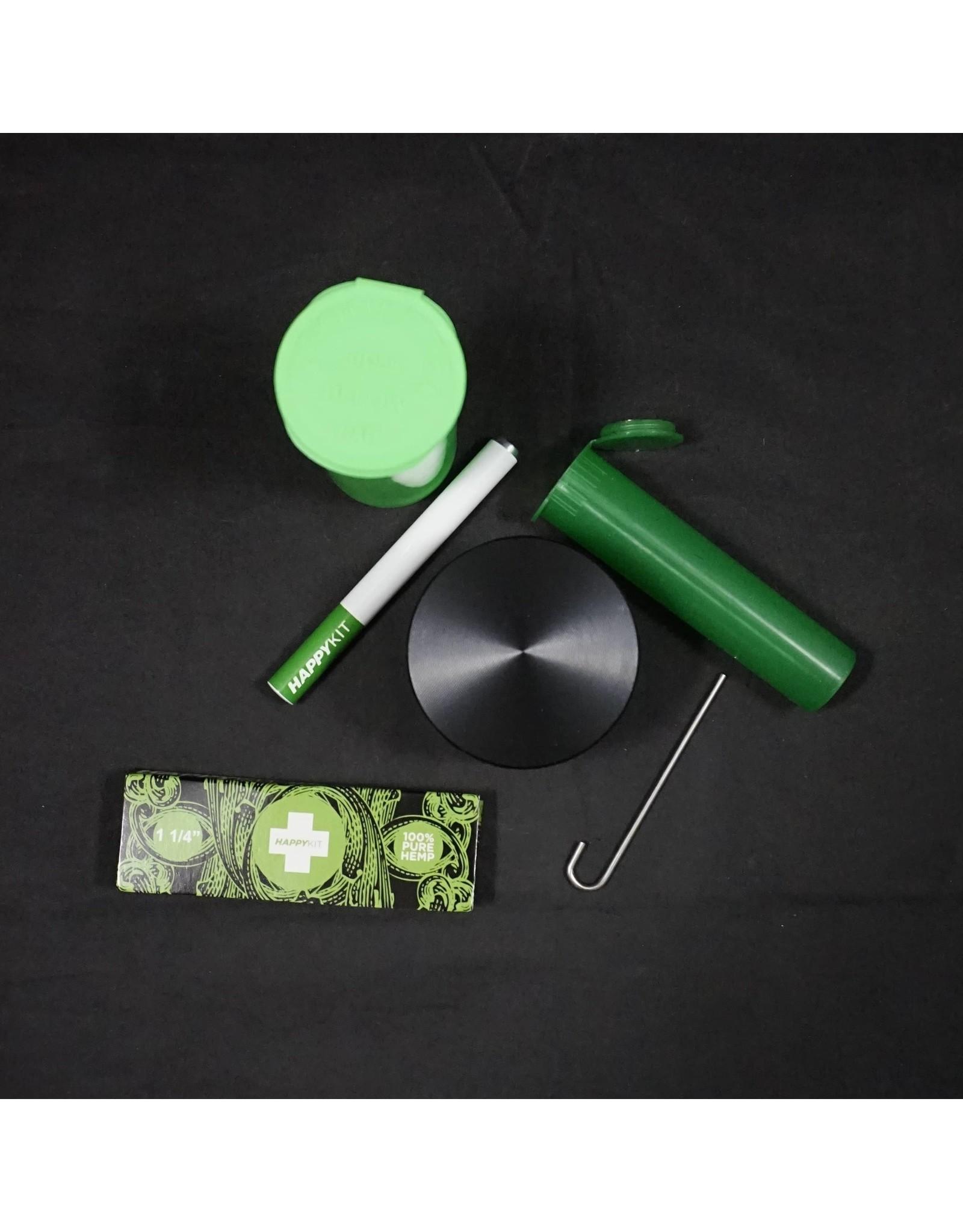 Happy Kit - Happy Pouch Lockable Smoker Travel Kit Gray