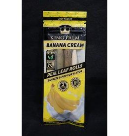 King Palm King Palm Pre-Roll Wraps – 2pk Mini Banana Cream