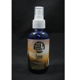 Wolf Spirit Sage Blessed Love Spray