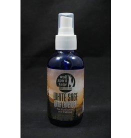 Wolf Spirit Sage Blessed With Lavender Spray