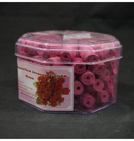 Backflow Incense Cones70pk - Rose