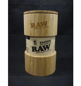 Raw Raw Bamboo Six Shooter - Kingsize