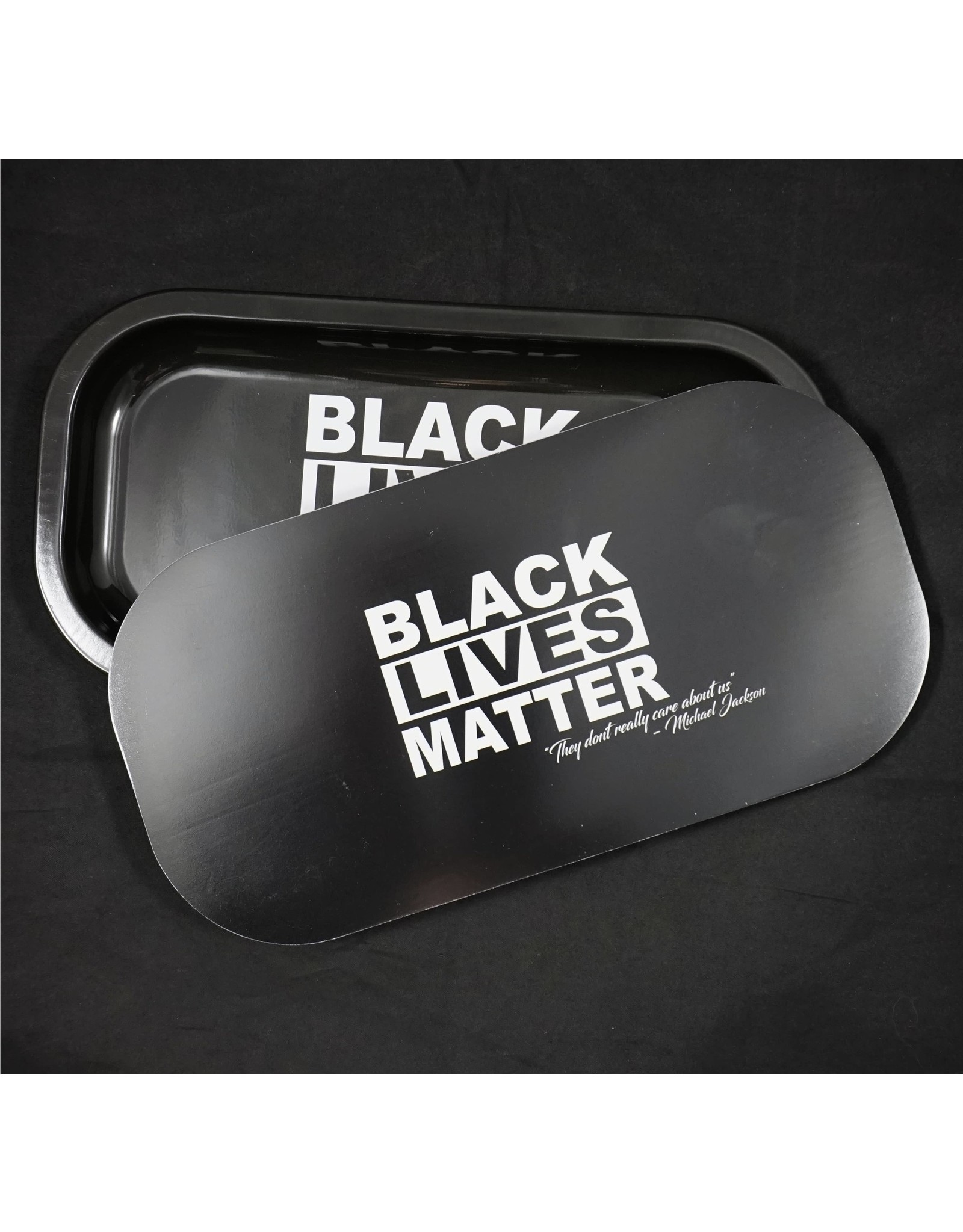 Black Lives Matter Small Metal Tray w/Magnetic Lid