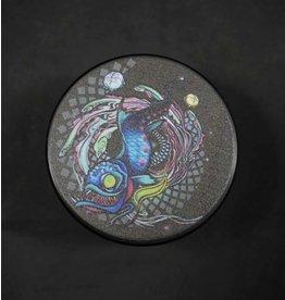 "Pulsar Pulsar Artist Series 4pc 2.5"" Grinder - Psychedelic Dragonfish"
