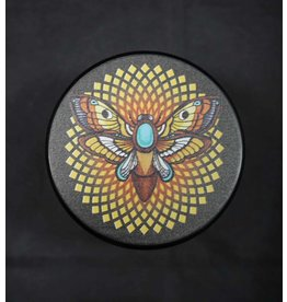 "Pulsar Pulsar Artist Series 4pc 2.5"" Grinder - Psychedelic Moth"