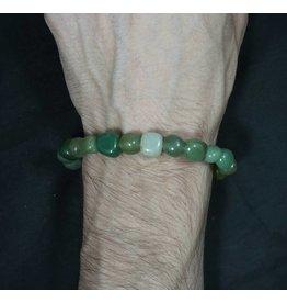 Tumbled Stone Bracelet - Aventurine