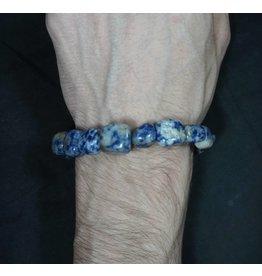Tumbled Stone Bracelet - Sodalite
