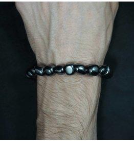 Tumbled Stone Bracelet - Hematite