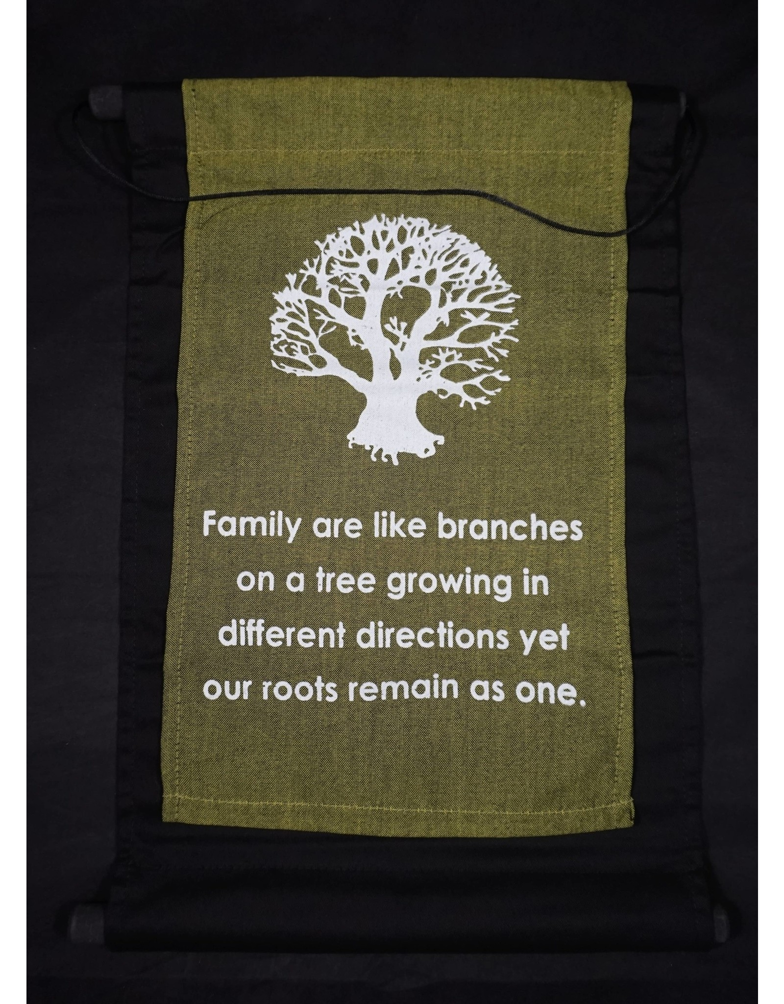 Family Are Like Branches Banner