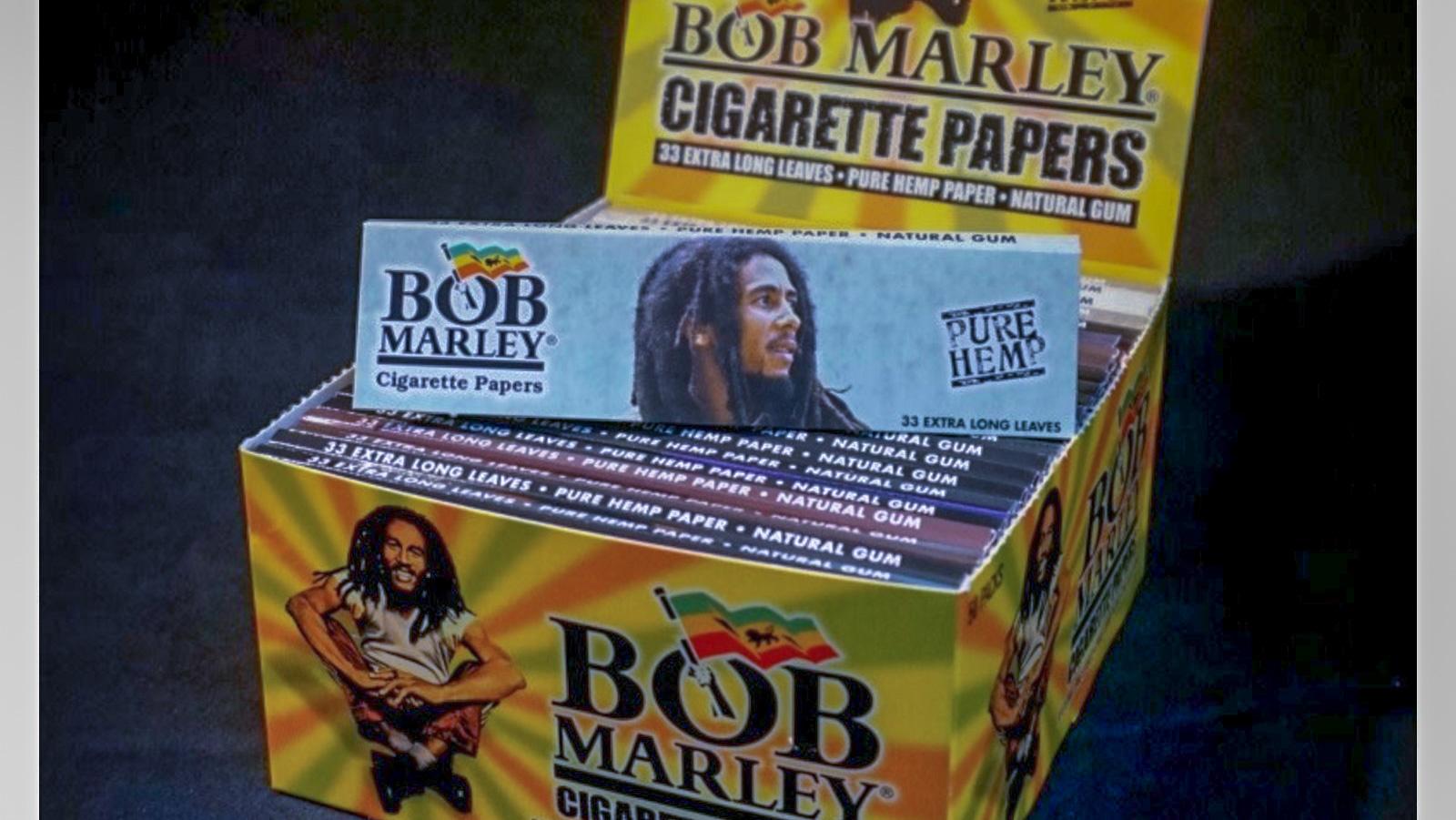 Bob Marley Cigarette Papers KS