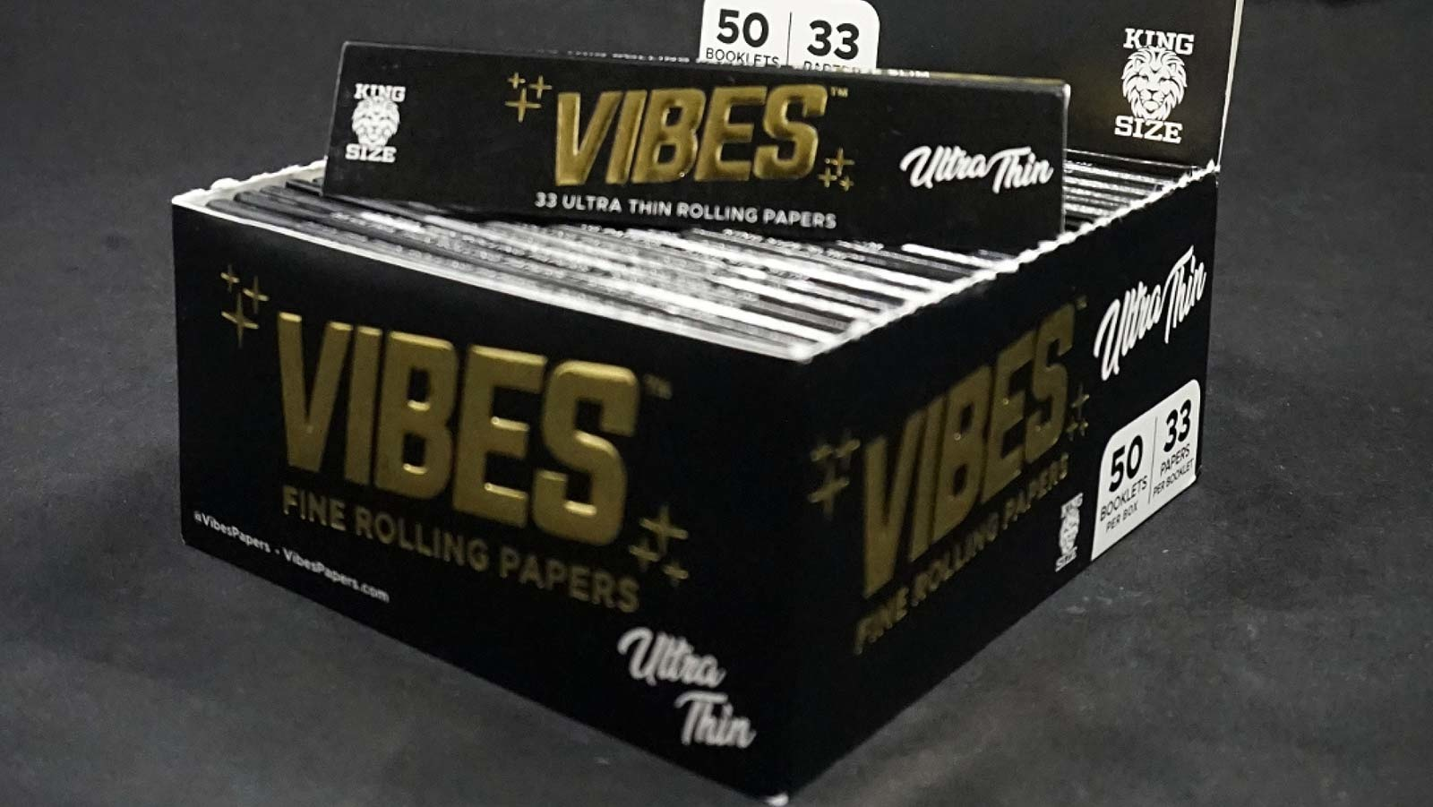 Vibes Ultra Thin Papers KS