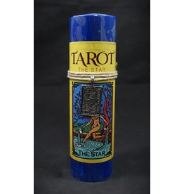 Tarot Card Candle -
