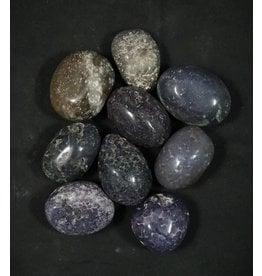 Grape Agate Tumbled Stone