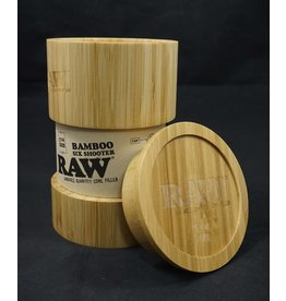 Raw Bamboo Six Shooter - 1 1/4