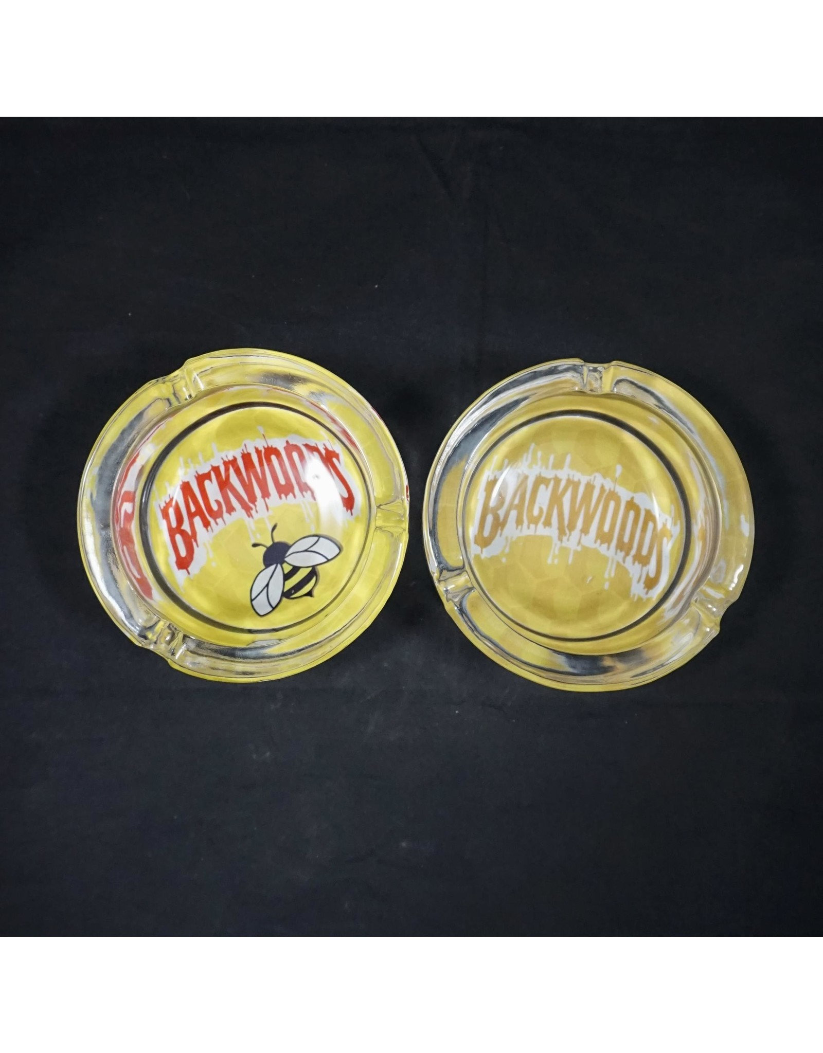 Backwoods Glass Ashtray - Assorted Colors