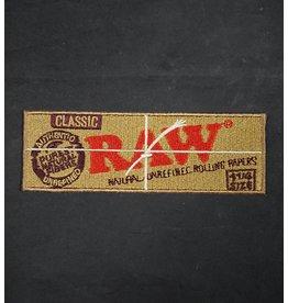 Raw Raw Patch - Rectangle Logo