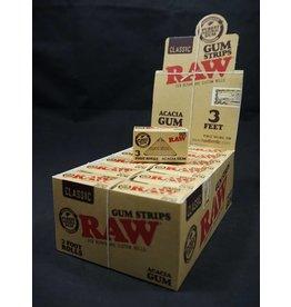 Raw Classic Acacia Gum Strips For Repair and Custom Rolls