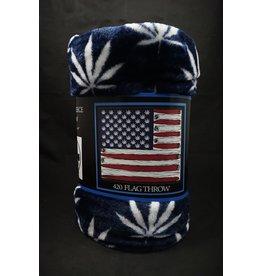 420 Flag Blanket