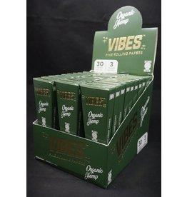 Vibes Papers Vibes Cones Organic Hemp KS 3pk