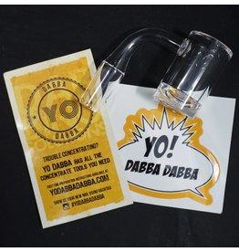 Yo Dabba Dabba Yo Dabba Dabba 90° Concave Flat Top 14mm Male