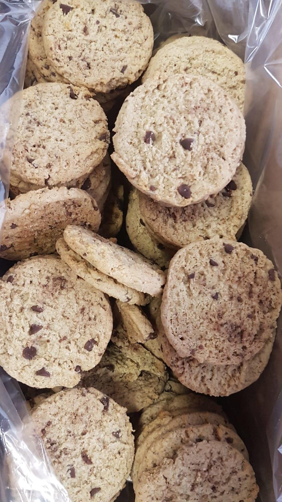 Bo-De Foods Bulk Crispy Oatmeal Chocolate Chip