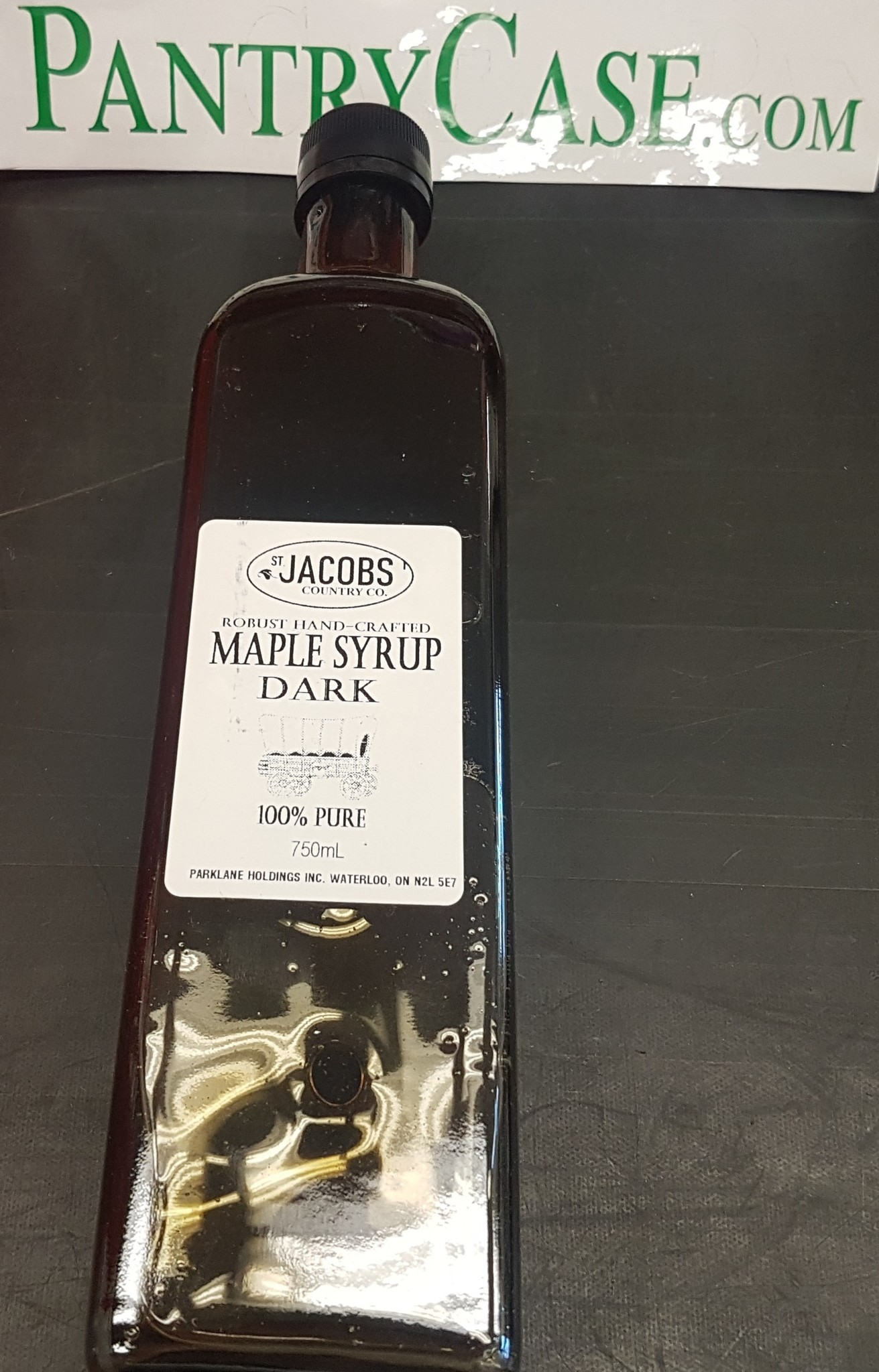 St Jacobs Country St Jacobs Dark Maple Syrup 750ml