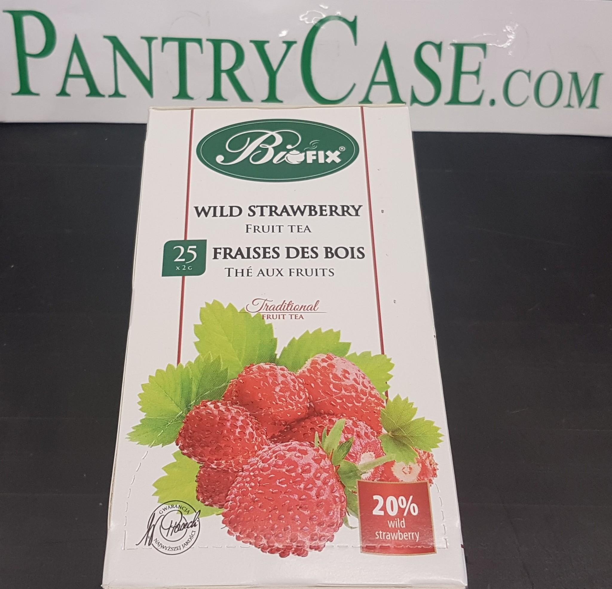 Biofix Wild Strawberry Tea 25pk