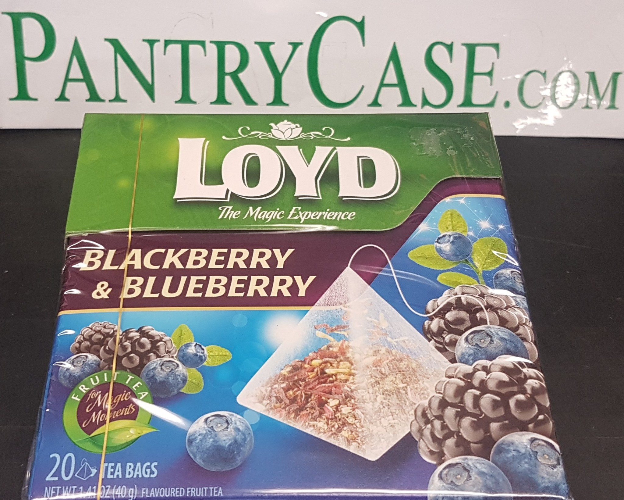 Loyd Blackberry and Blueberry Tea 20pk