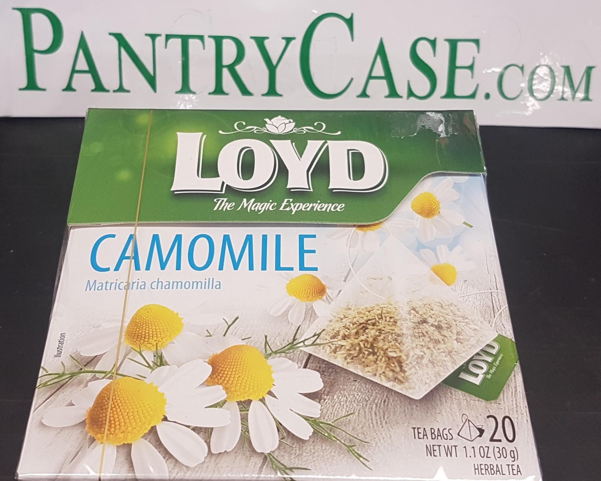 Loyd Chamomile Tea 20pk