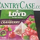 Loyd Cranberry Tea 20pk