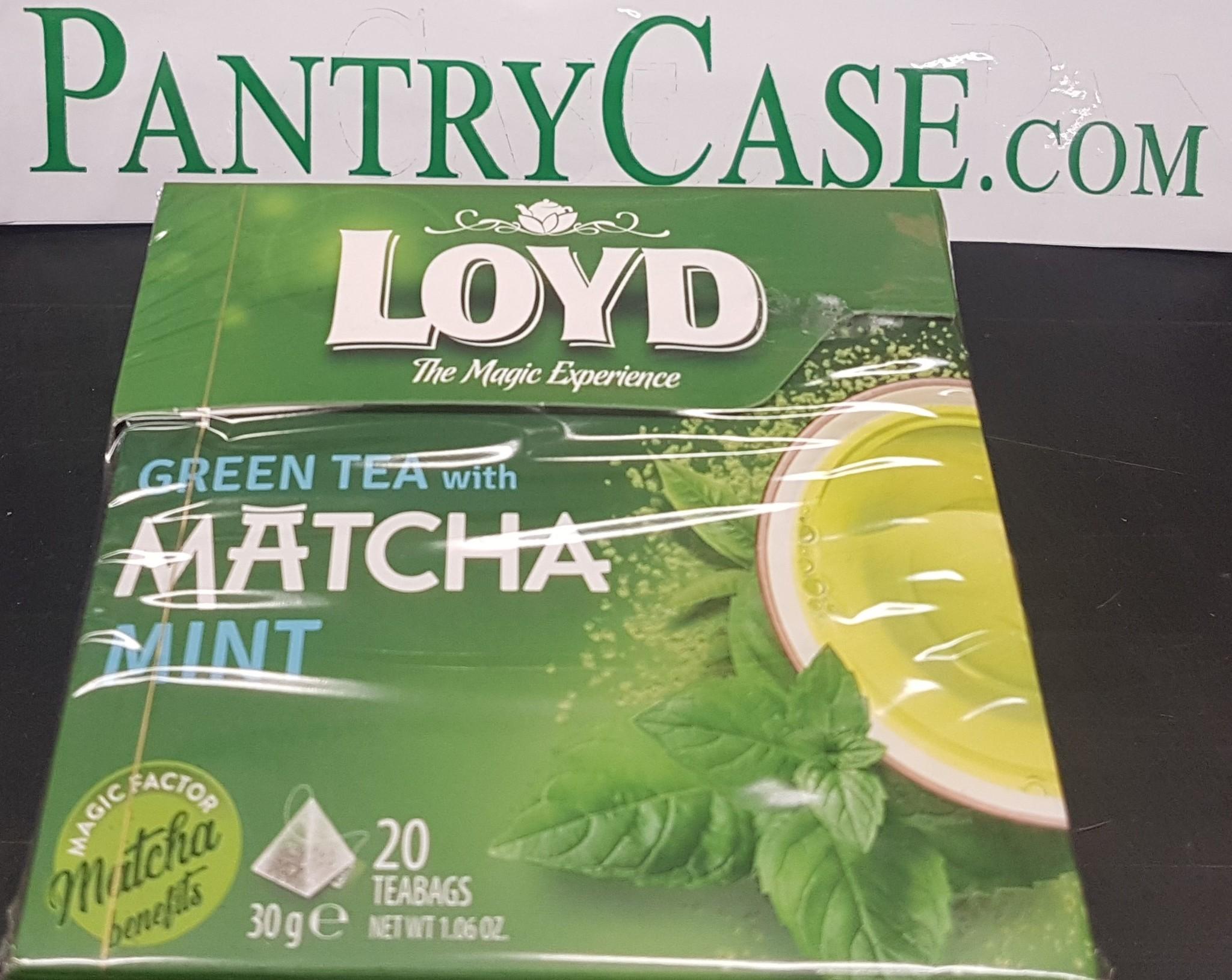 Loyd Green Tea with Matcha Ginger 20pk