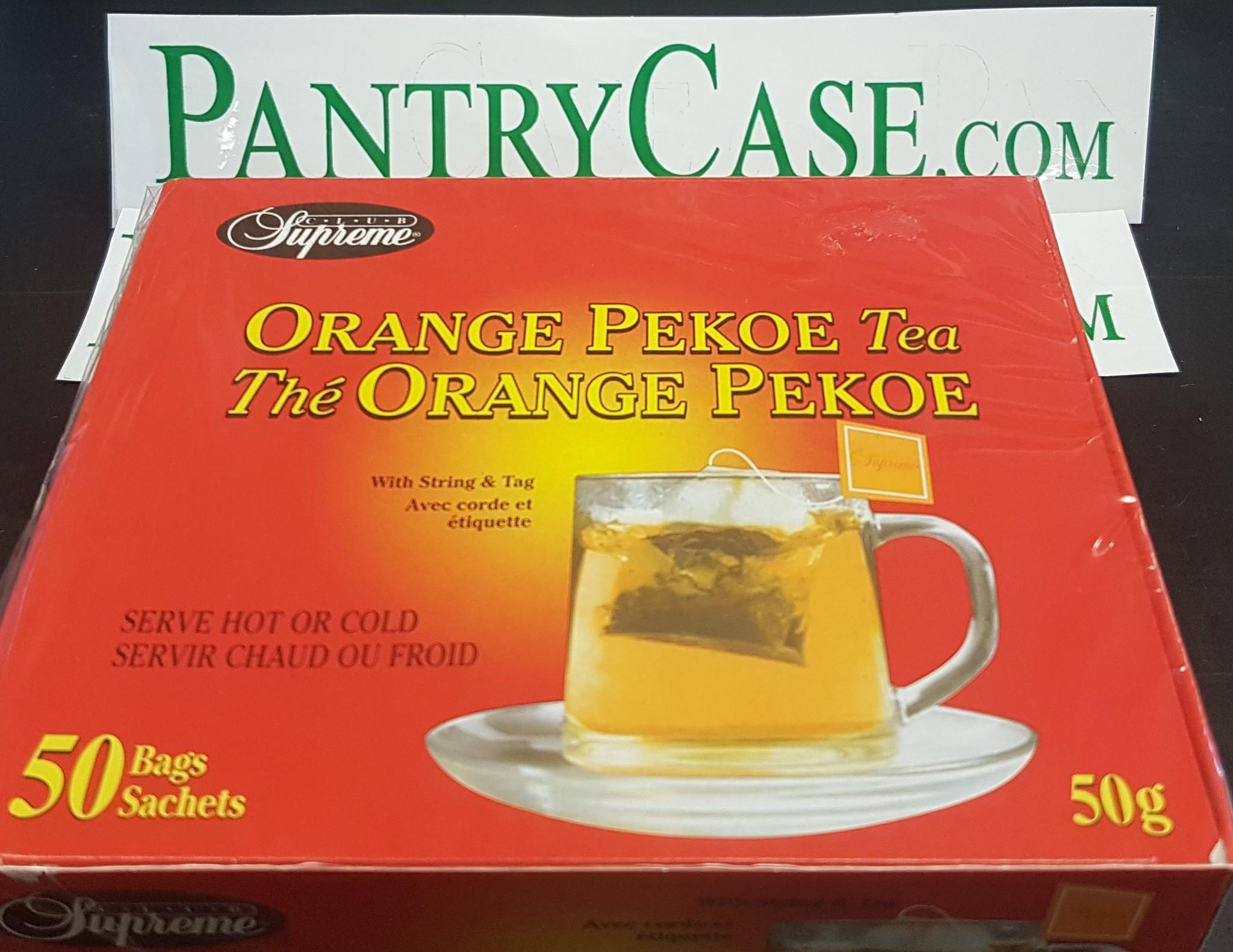 Club Supreme Club supreme Orange Pekoe Tea 50Bg