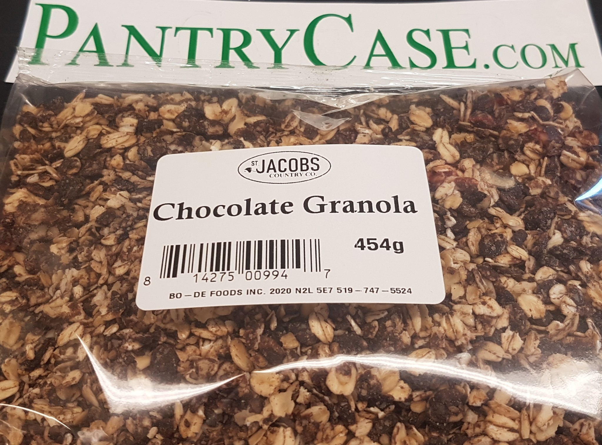 St Jacobs Country St Jacobs Chocolate Granola 454g