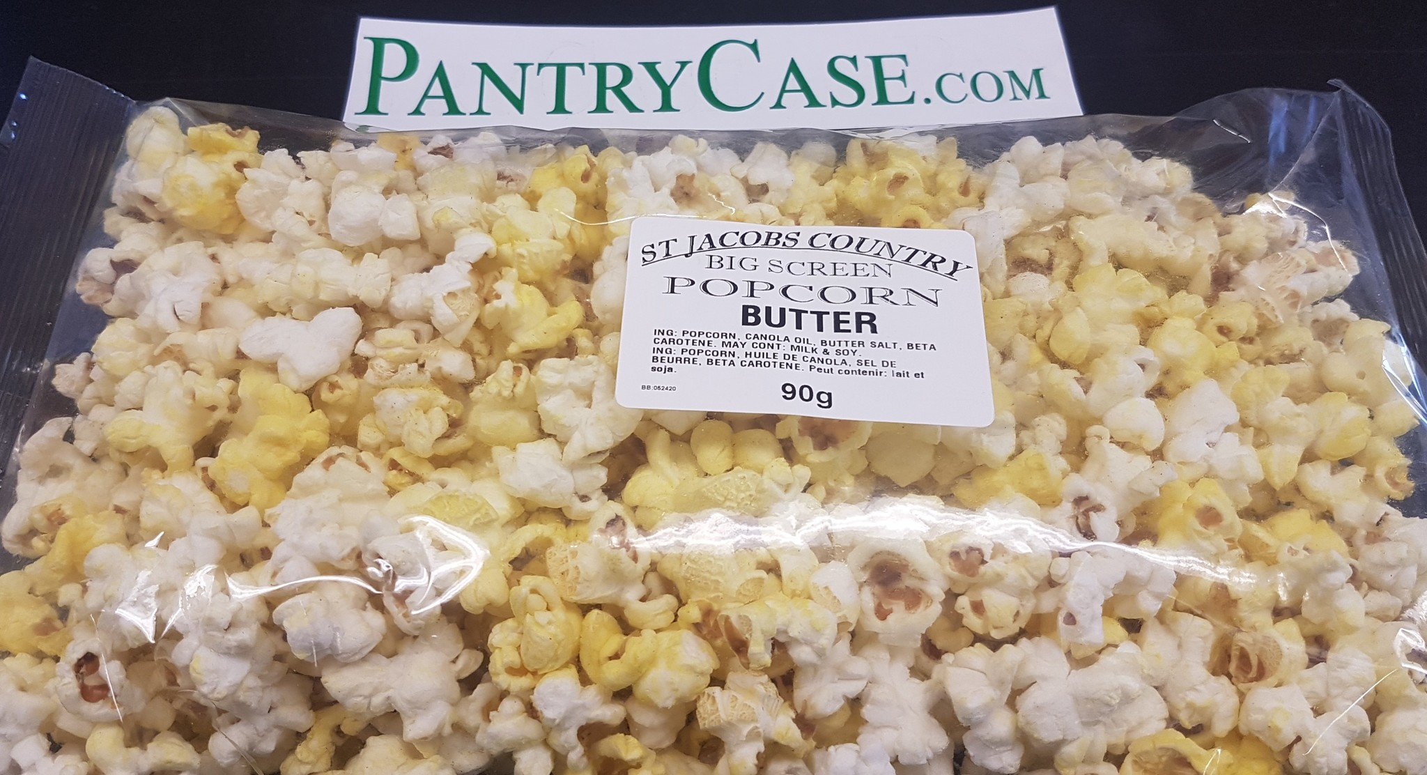 St Jacobs Country Big Screen Cheddar and White Cheese Popcorn 120g