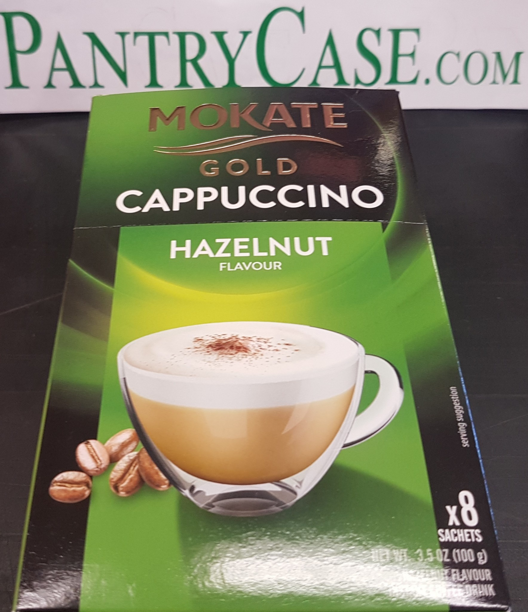 Mokate Hazelnut Gold Cappuccino 8pk